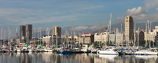 Harbour of Santa Cruz de Tenerife